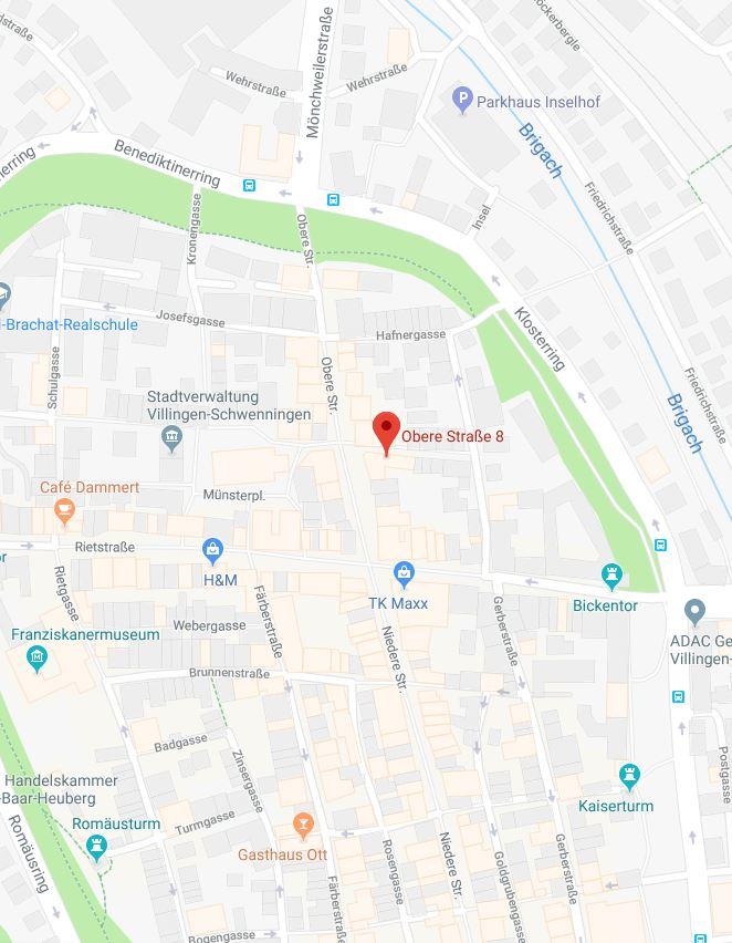 Maps Standort Villingen